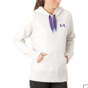 Under Armour Storm Gray Purple Hoodie size Small